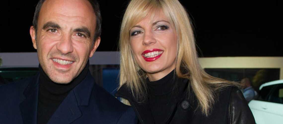 Nikos Aliagas et Tina amoureux aux Gucci Paris Masters