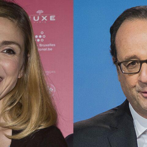 Julie Gayet soutient François Hollande dans la tourmente
