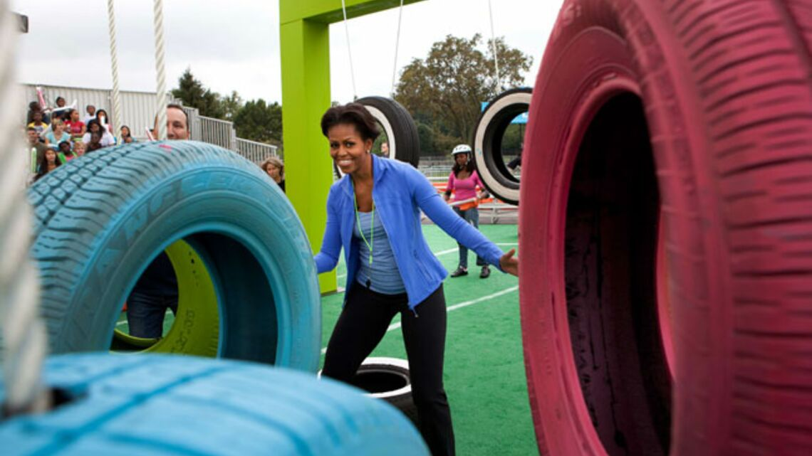 Vidéo- Michelle Obama: cours de sport à la Maison… blanche!