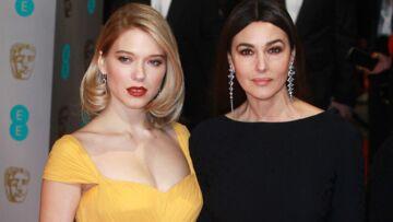 Léa Seydoux et Monica Belluci, duo complice aux BAFTA Awards