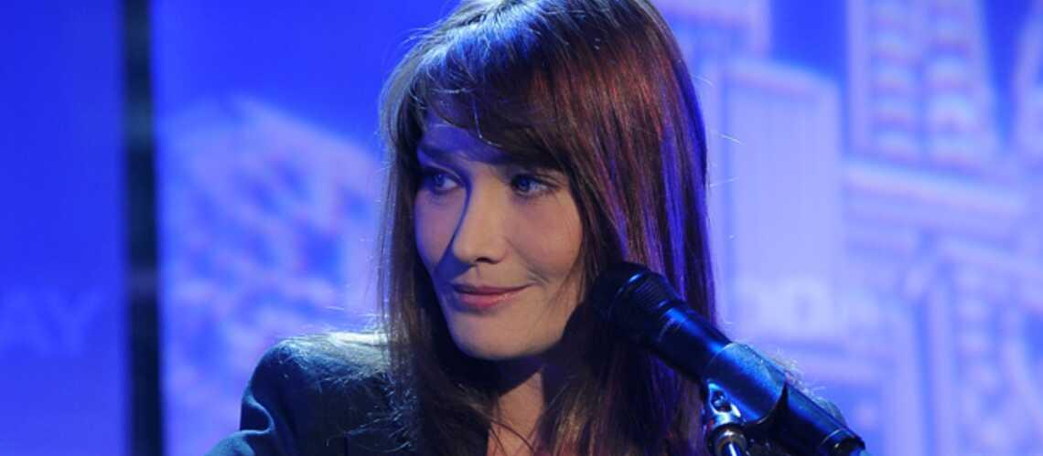 Des petites chansons françaises pour Carla Bruni