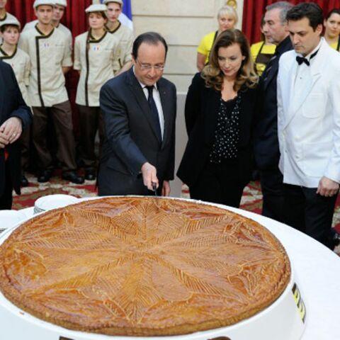 François Hollande a coupé la galette républicaine