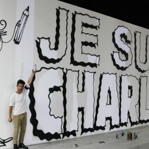 L'art rend hommage à Charlie