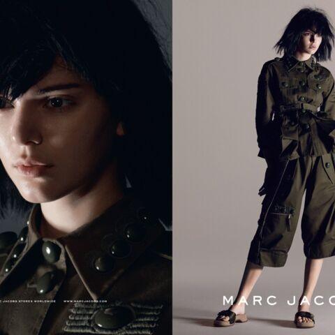 Kendall Jenner, Adriana Lima, transformées par Marc Jacobs