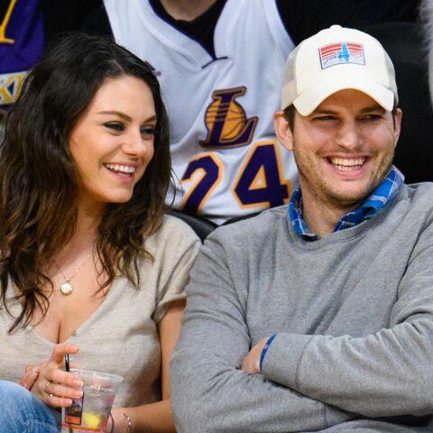 Mila Kunis et Ashton Kutcher présentent leur fille