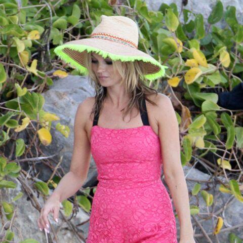 Photos – Kate Moss, Eva Longoria, en combi-shorts pour l'été