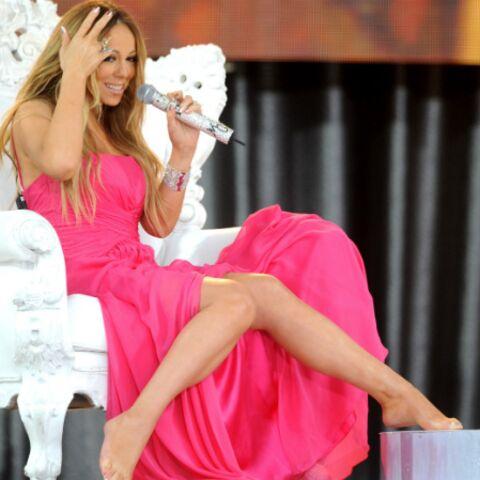 Mariah Carey victime d'un accident de chaussure