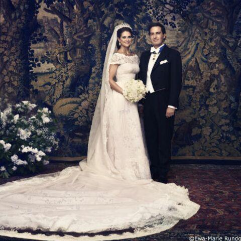 Photos: Madeleine de Suède, les portraits officiels de son mariage