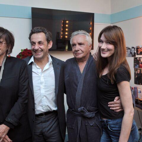 Photos- Michel Sardou et Nicolas Sarkozy, réconciliés: la preuve en images