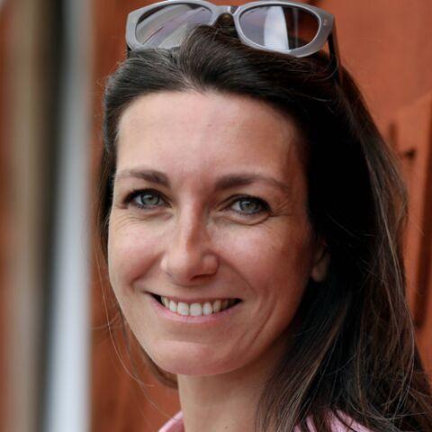 PHOTOS – Anne-Claire Coudray et son chéri font une (rare) apparition en amoureux à Roland Garros