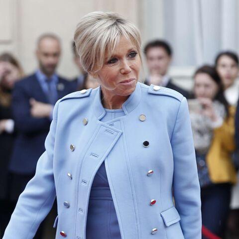 Brigitte Macron icône de mode: elle a le droit à un tee-shirt à son nom