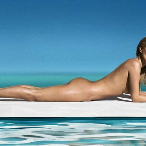 Kate Moss nue pour St Tropez