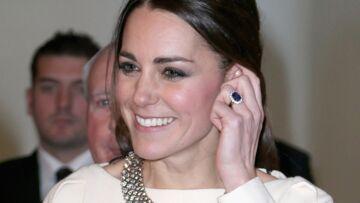 Kate Middleton, un saphir qui vaut de l'or