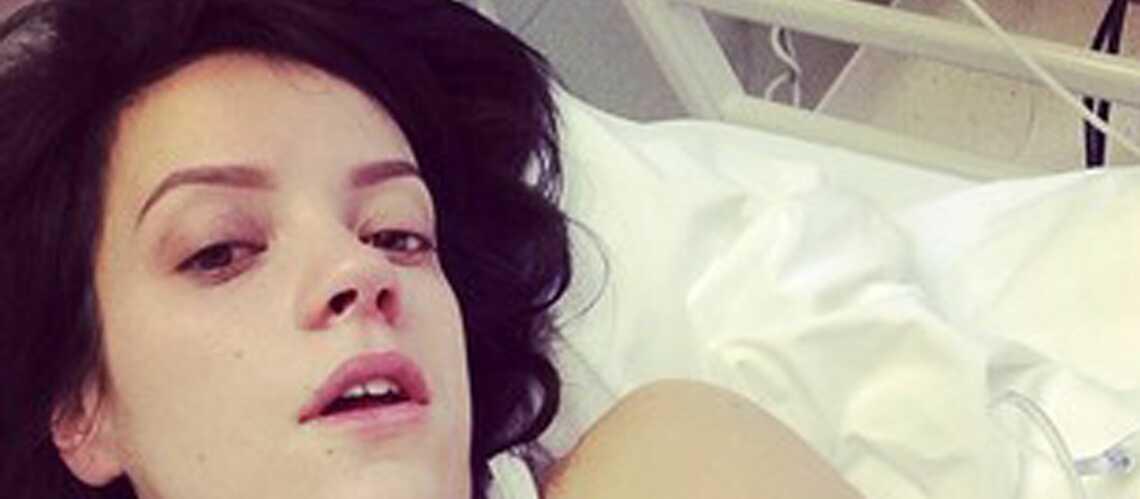 Lily Allen hospitalisée d'urgence