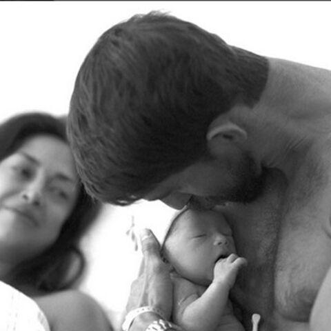 Michael Phelps dévoile les photos de son bébé