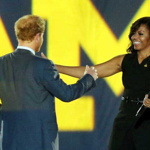 Michelle Obama et le prince Harry: inséparables comme mère et fils