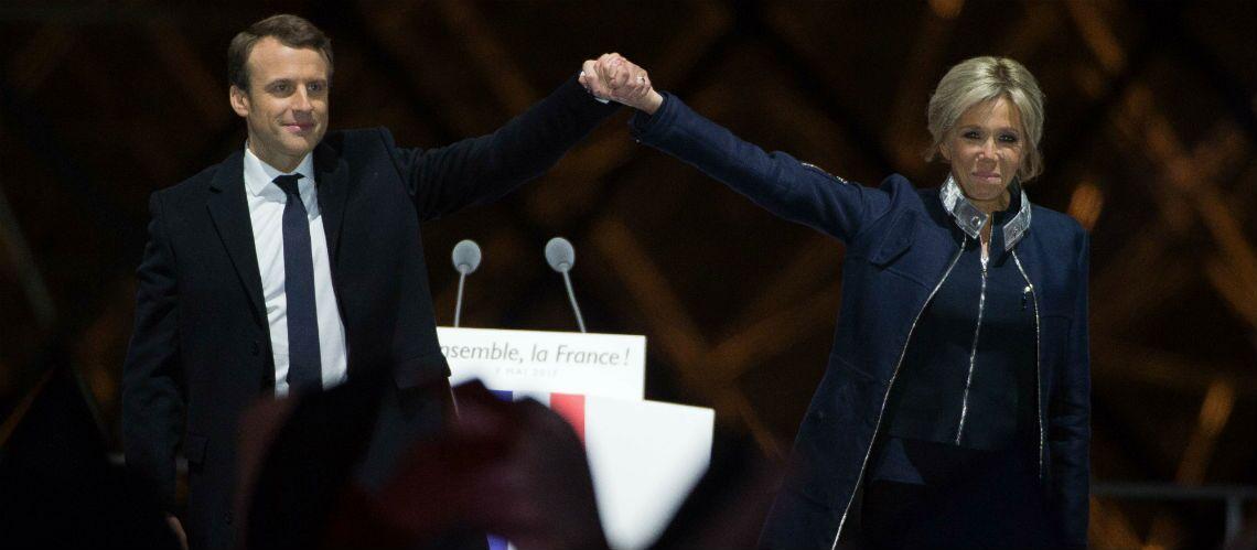 Le chignon de Brigitte Macron: elle se coiffe déjà comme une Première Dame