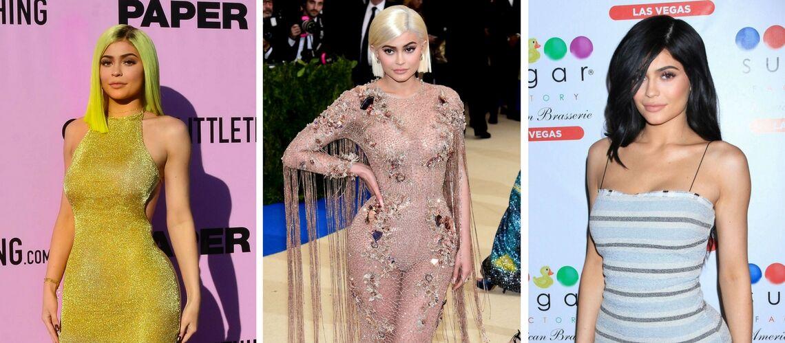 PHOTOS – Kylie Jenner fait tomber la perruque et dévoile ses vrais cheveux
