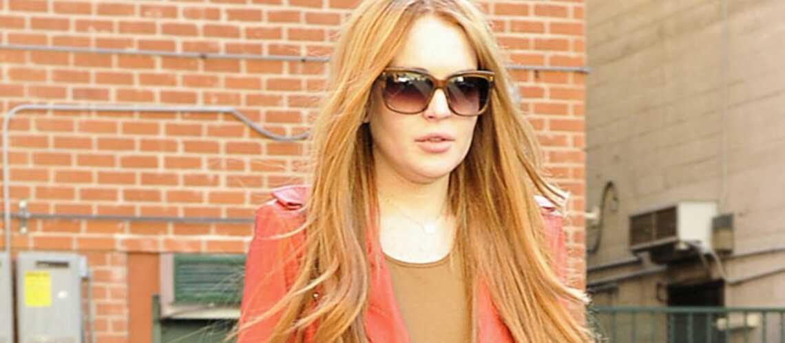 Lindsay Lohan, alerte rousse