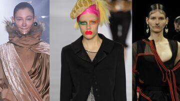 Beauté des défilés: Le freak c'est chic à la Fashion Week