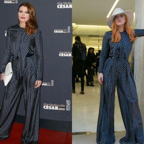Match mode: Lady Gaga et Elodie Frégé, la combinaison commune