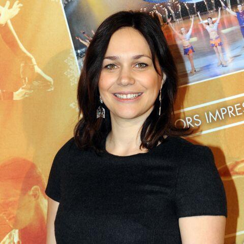 Nathalie Péchalat de retour sur la glace