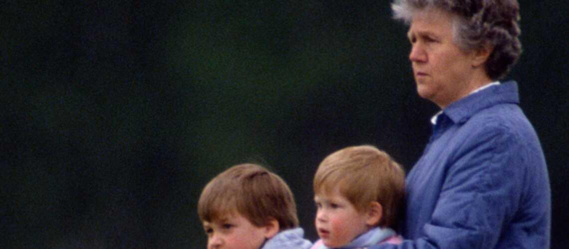 Les princes William et Harry pleurent leur nounou