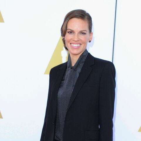 T'as le look… Hilary Swank!