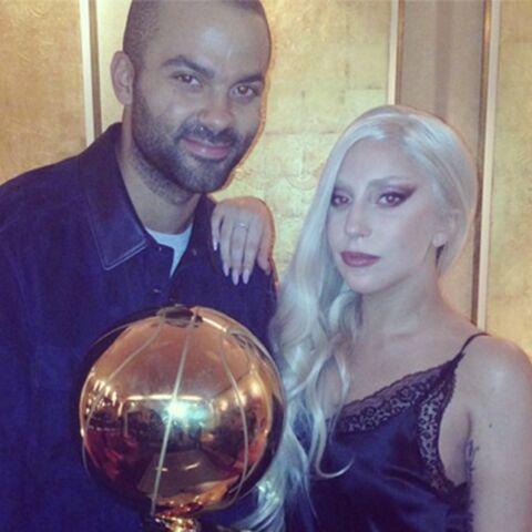 Lady Gaga, sous le charme de Tony Parker