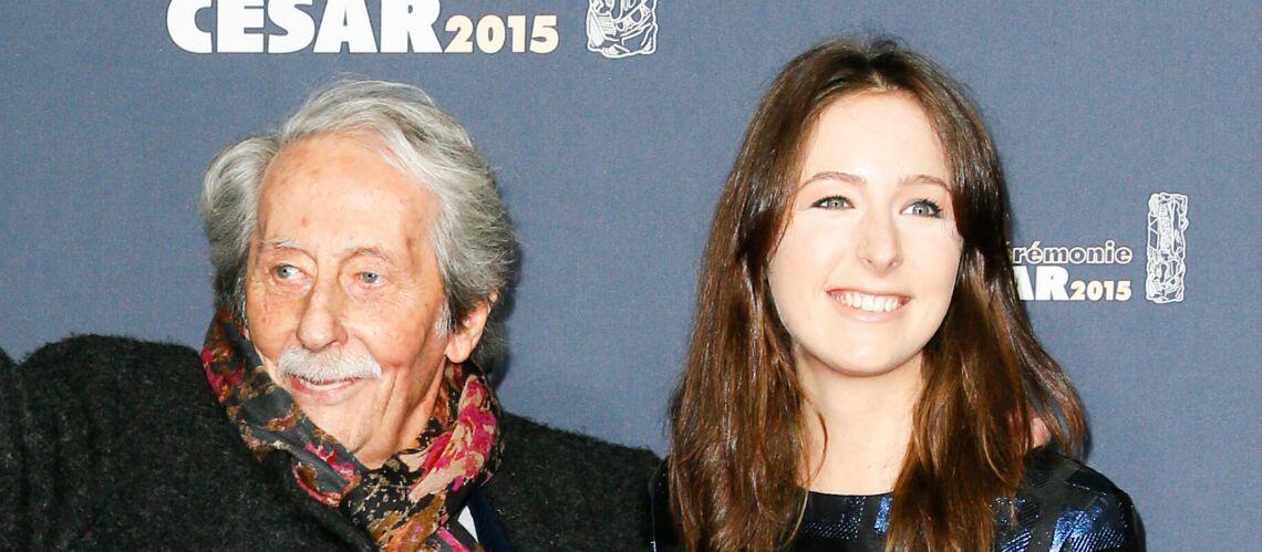 Mort de Jean Rochefort: un papa si complice de sa fille Louise