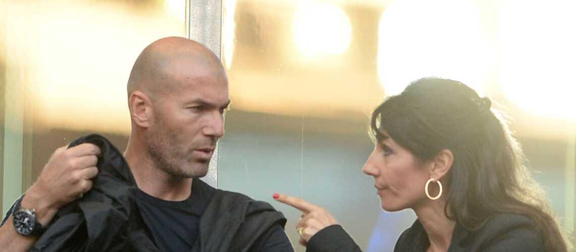 PHOTOS – Zinedine Zidane avec sa femme et ses enfants au concert de Soprano à Marseille