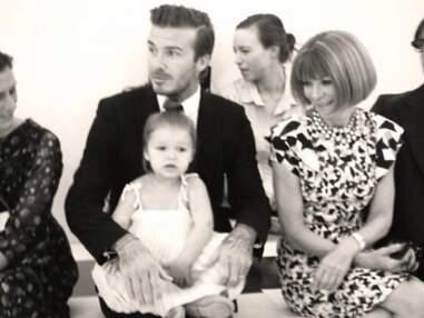 Harper Beckham trône au premier rang du défilé de sa maman à New York