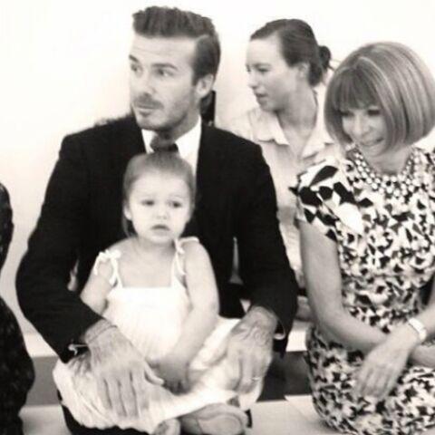 Photos- Le baptême mode de Harper Beckham à New York