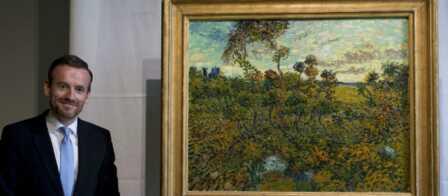 de Une révélée Gala toile Van Gogh OPXiukZT