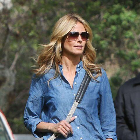 Shopping – La chemise denim d'Heidi Klum