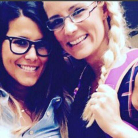 Photo – Karine Ferri et Elodie Gossuin: écolières sexy