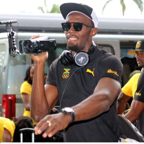 Usain Bolt a le droit à une déclaration d'amour en conférence de presse