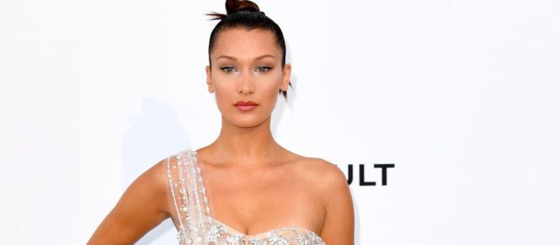 PHOTOS – Bella Hadid, Rihanna, Cara Delevingne… La robe transparente s'impose sur les tapis rouge