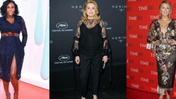 PHOTOS – Kate Middleton, Catherine Deneuve, Blake Lively… les robes en dentelle ont leurs faveurs