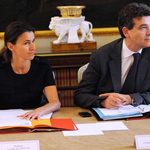 Arnaud Montebourg et Aurélie Filippetti: leur bébé républicain