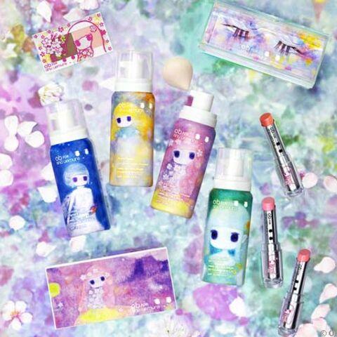 La collection arty girly de Shu Uemura