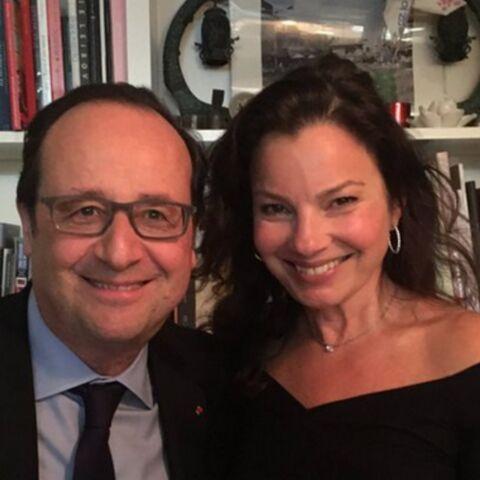 François Hollande et Fran Drescher: une rencontre d'enfer