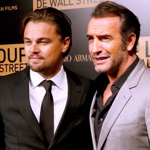 Photos- Jean Dujardin et Leonardo DiCaprio, réunis à Paris