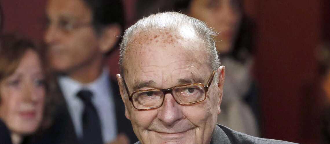 Jacques Chirac: sa santé moins préoccupante selon son entourage
