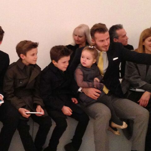 Victoria Beckham: tous réunis pour applaudir maman