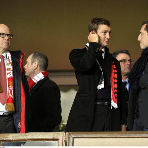Gad Elmaleh bien entouré pour supporter l'AS Monaco