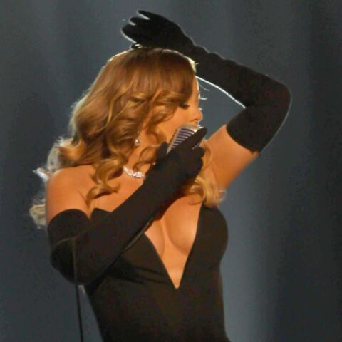 Mariah Carey et son incroyable robe au BET Honor