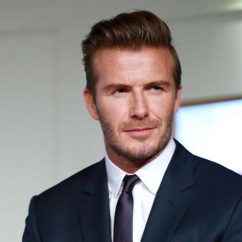 David Beckham, la charité en famille