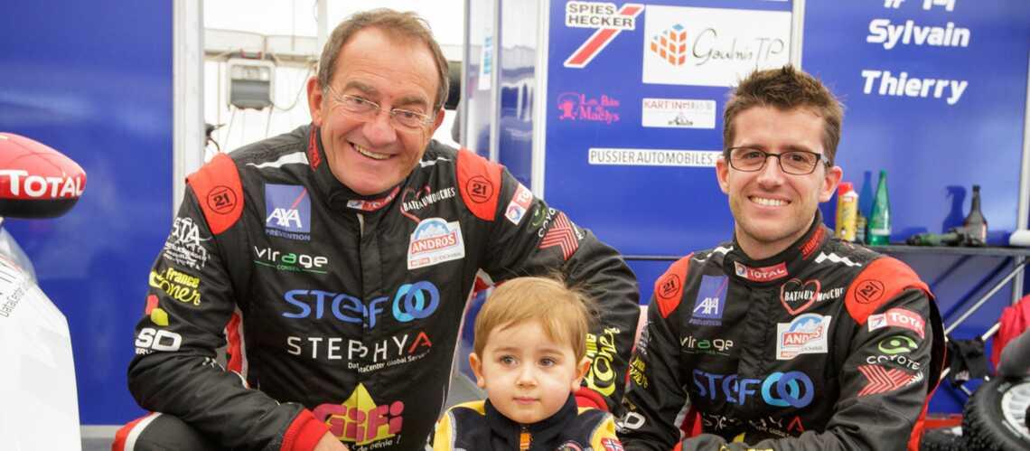 Jean-Pierre Pernaut: trois générations en piste