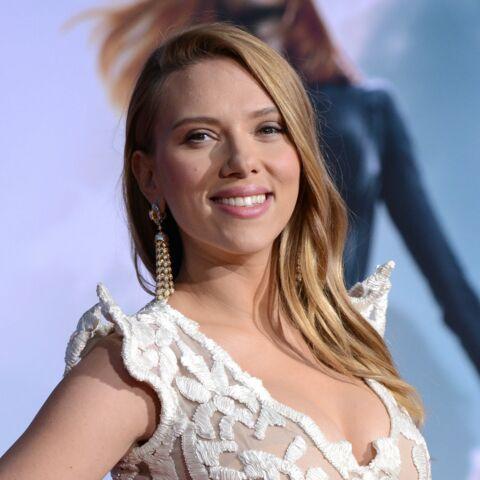 Scarlett Johansson surprise par le visage de son bébé